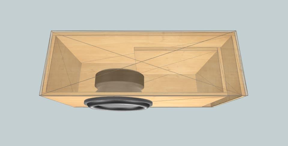 15 дюймов короб для сабвуфера Pride HP 15