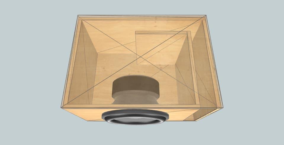 "12 inch subwoofer box Phoenix Gold 12"" XS124DVC"