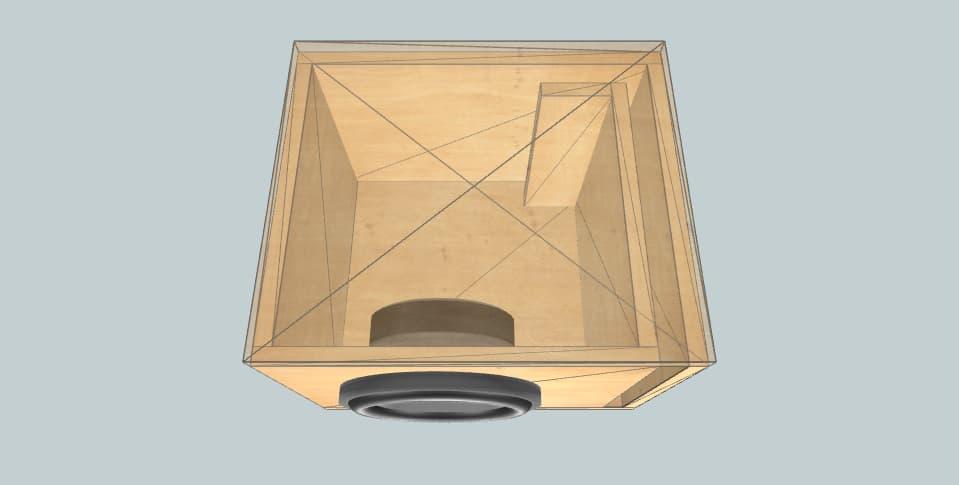 8 дюймов короб для сабвуфера Rockford Fosgate S1-808