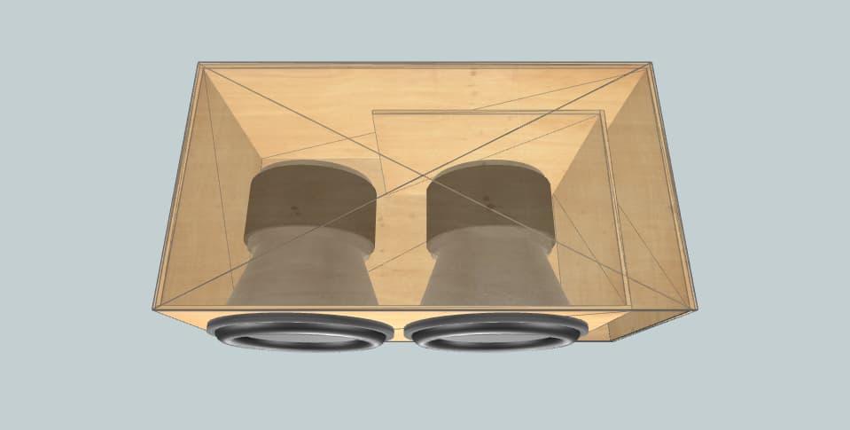 15 дюймов короб для сабвуфера Sundown Audio X Series