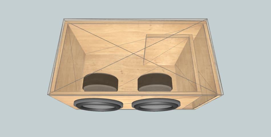 Ural AS-D10.3 - subwoofer box