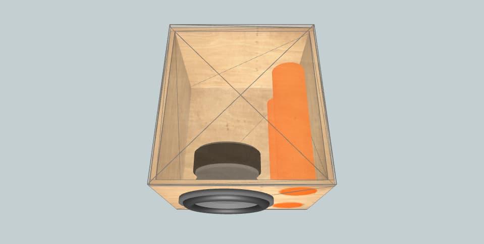 12 inch subwoofer box DLS MW12D
