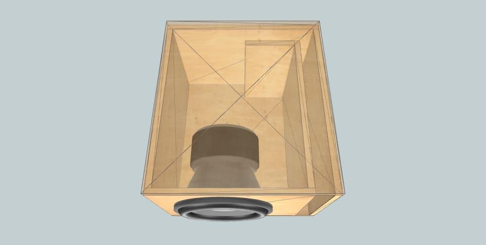 12 дюймов короб для сабвуфера Kicker Comp R Betto Brai