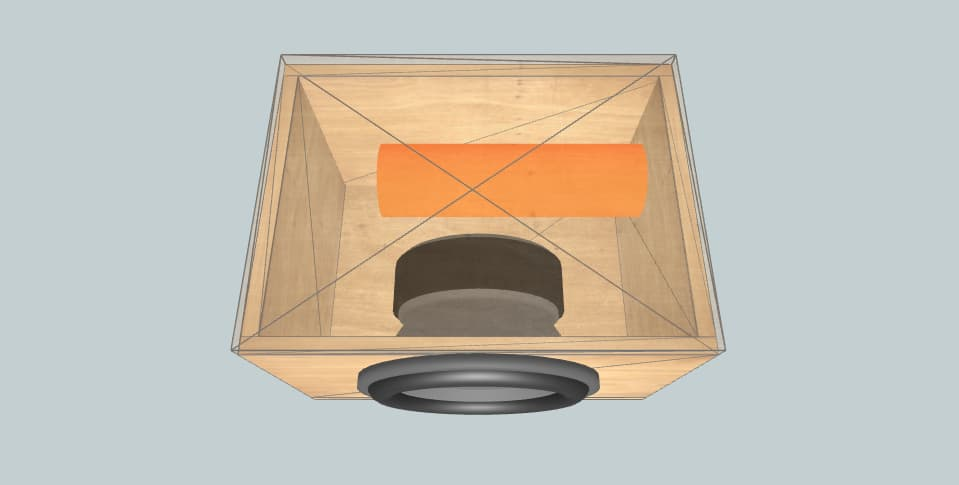 Orion xtr 12 aero port spec - subwoofer box