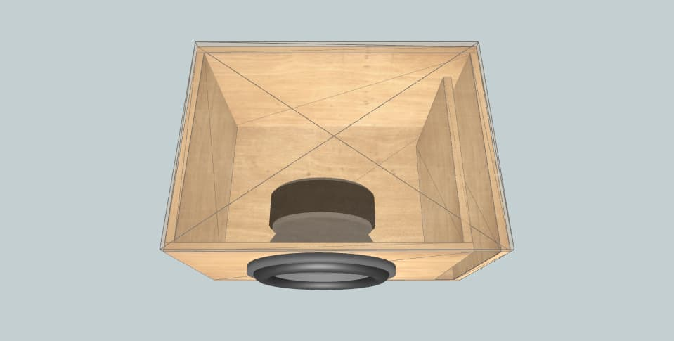 12 inch subwoofer box Fusion 12