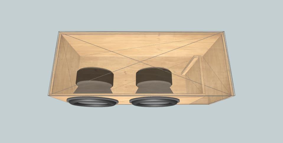 Skar 18s - subwoofer box