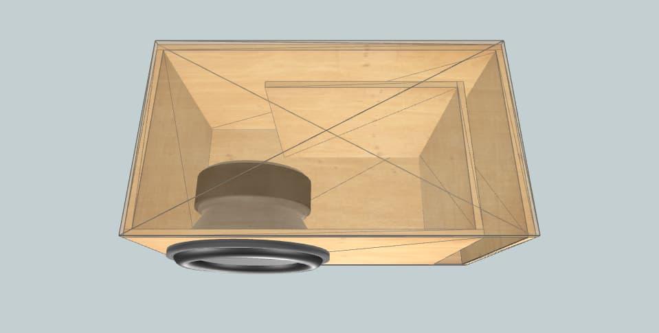 15 inch subwoofer box Ural Bulava 15
