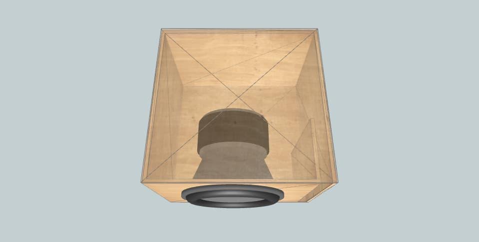 15 дюймов короб для сабвуфера B2 Audio RAMPAGE15 D1/D2