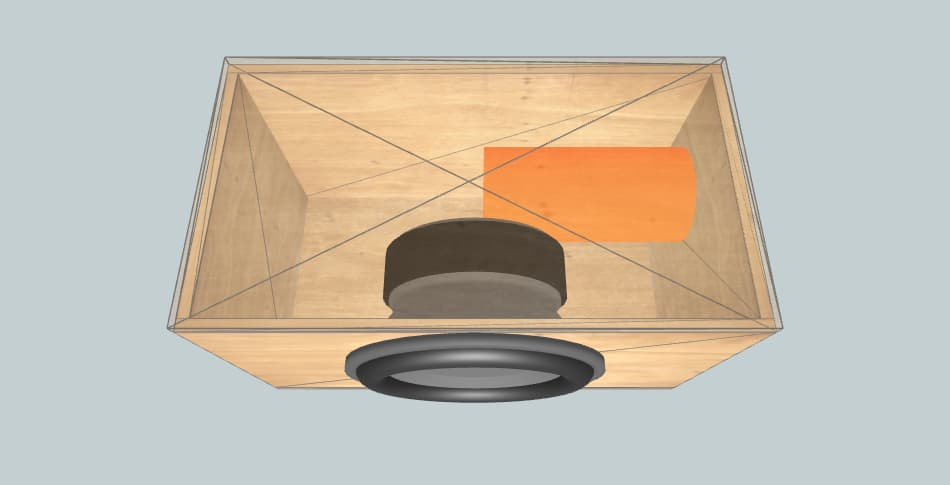 Короб для сабвуфера Avatar SST-15