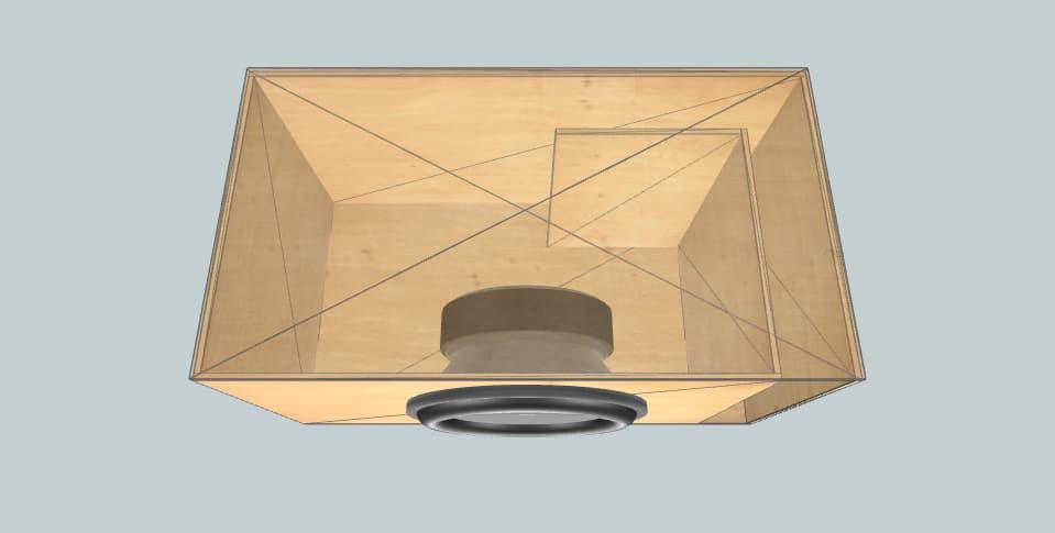 15 inch subwoofer box MTX Thunder 9500