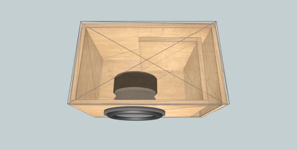 12 inch subwoofer box Deaf Bonce DB 302 D2