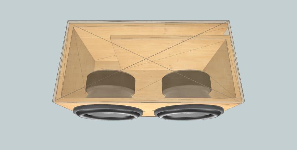 12 inch subwoofer box Skar 34hz