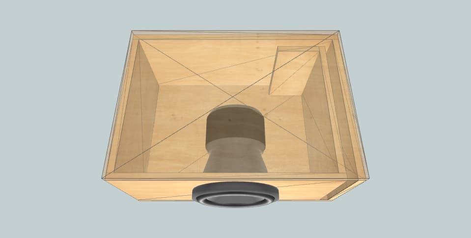 Mystery Massive gtx64 - subwoofer box