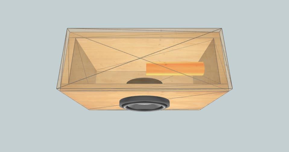 6*, 14L,36Hz - subwoofer box
