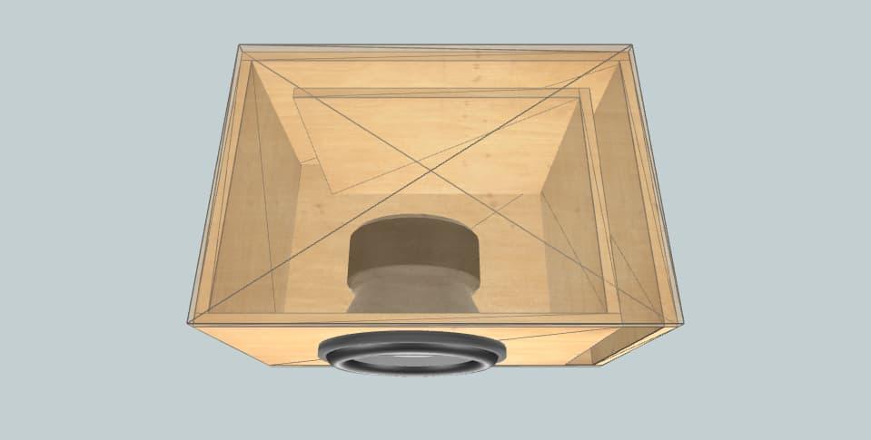 12 inch subwoofer box DL Audio phoenix 12