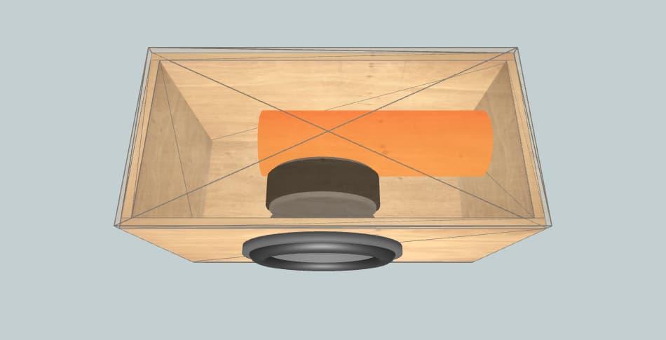 Ural TT 12 - subwoofer box