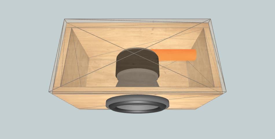 SSA F8L - короб для сабвуфера