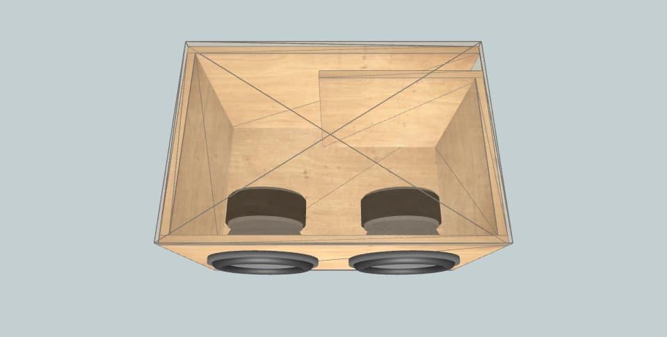 12 дюймов короб для сабвуфера Sundown Audio dgk 2