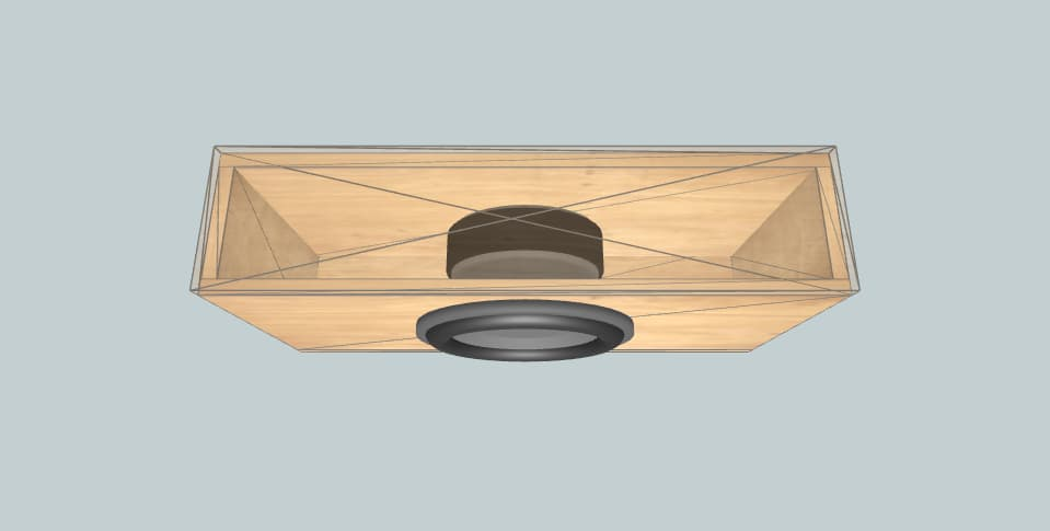 12 дюймов короб для сабвуфера Morel Ultimo Titanium