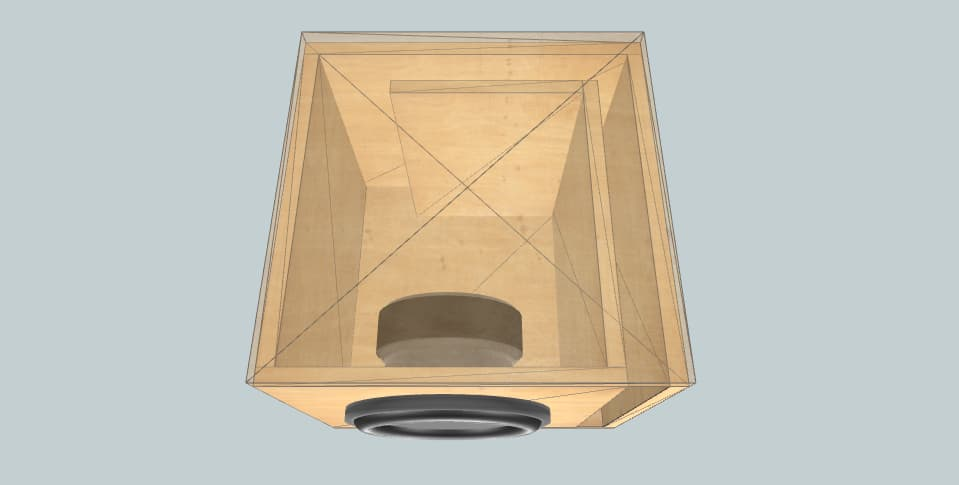 10 inch subwoofer box 10inch