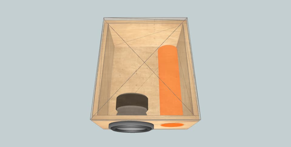 8 дюймов короб для сабвуфера 37 part 2