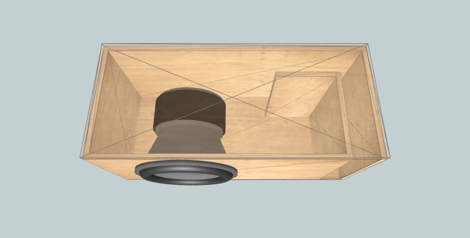 15 дюймов короб для сабвуфера Skar Single ZVX-15V2