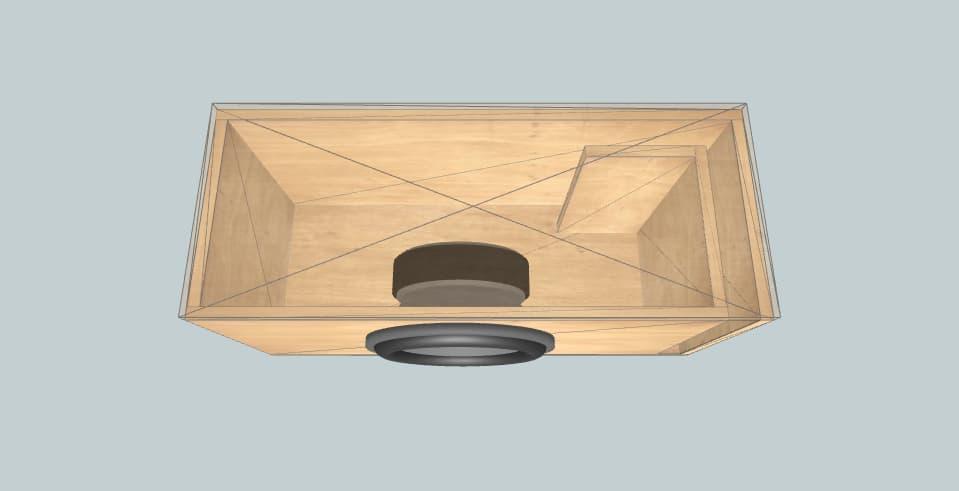 12 inch subwoofer box DLS matador