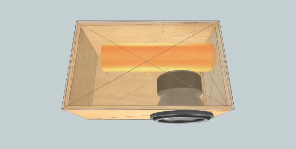 12 дюймов короб для сабвуфера 31 герц