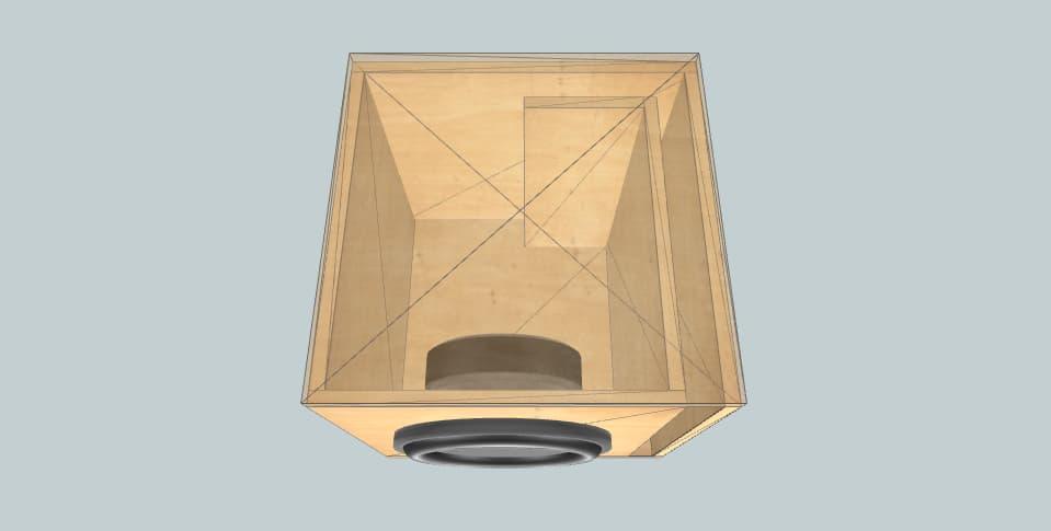 10 inch subwoofer box Supra TBS 250