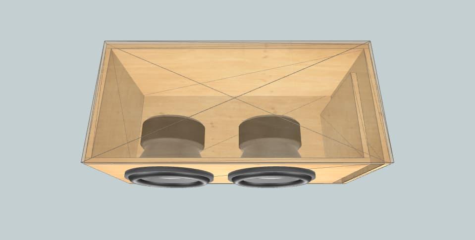 12 дюймов короб для сабвуфера Helix q12w