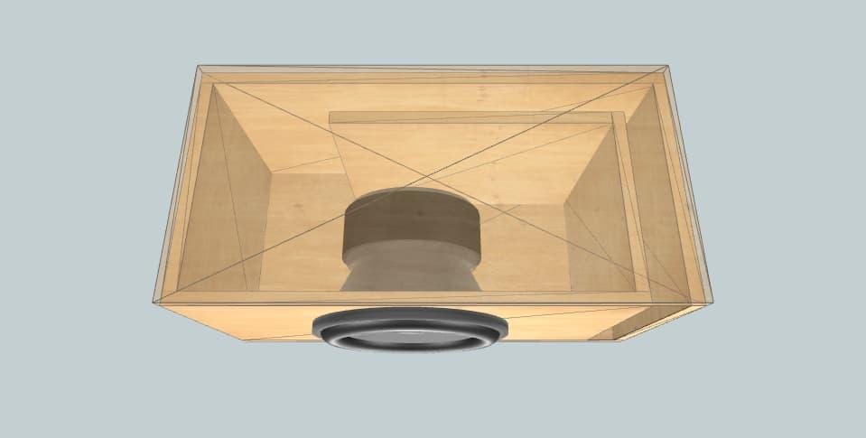 12 inch subwoofer box W6