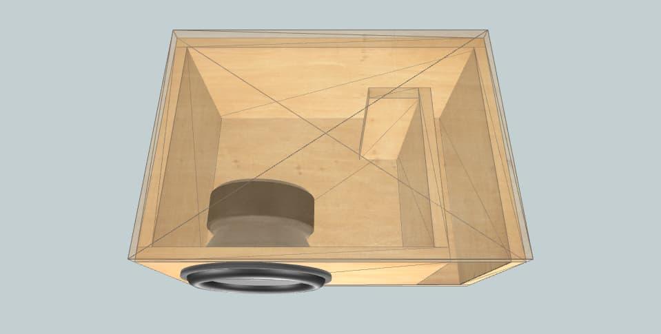 Sundown Audio X18 - subwoofer box