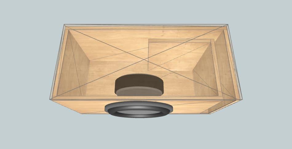 Avatar SBR-12 - короб для сабвуфера