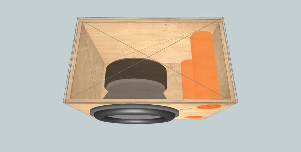 Blaupunkt Vpw460 - subwoofer box