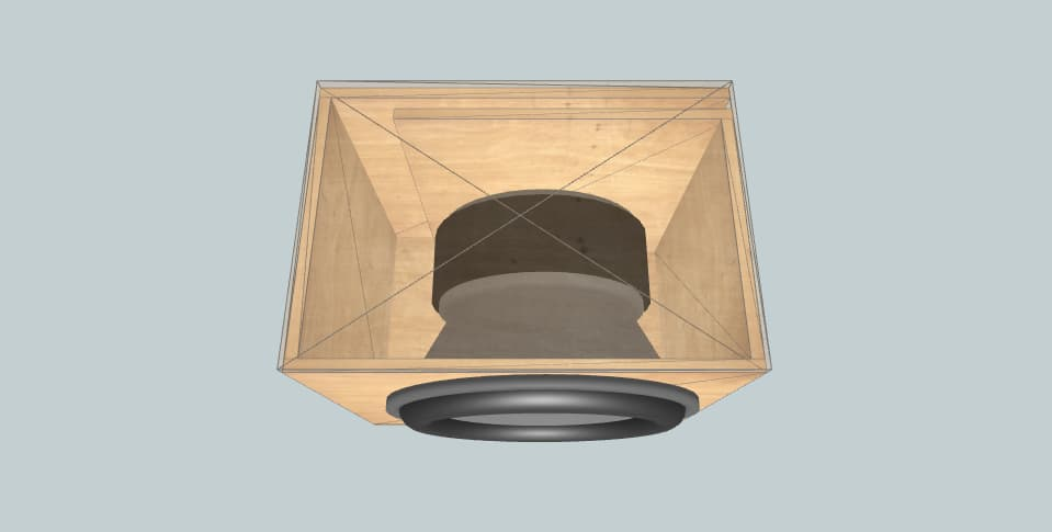 Resilient sound  - subwoofer box