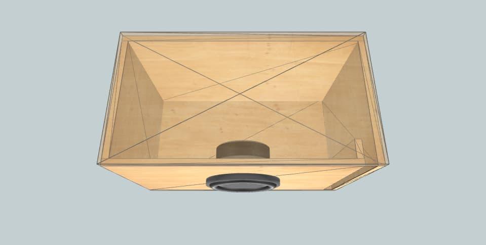 8 дюймов короб для сабвуфера Dayton Audio PS220-8