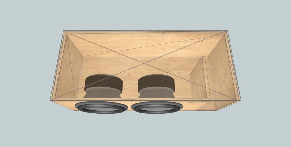 15 дюймов короб для сабвуфера Last design