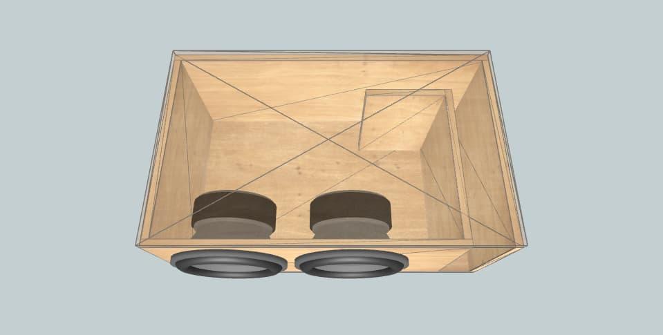 12 дюймов короб для сабвуфера Sundown Audio 2 e12 d2