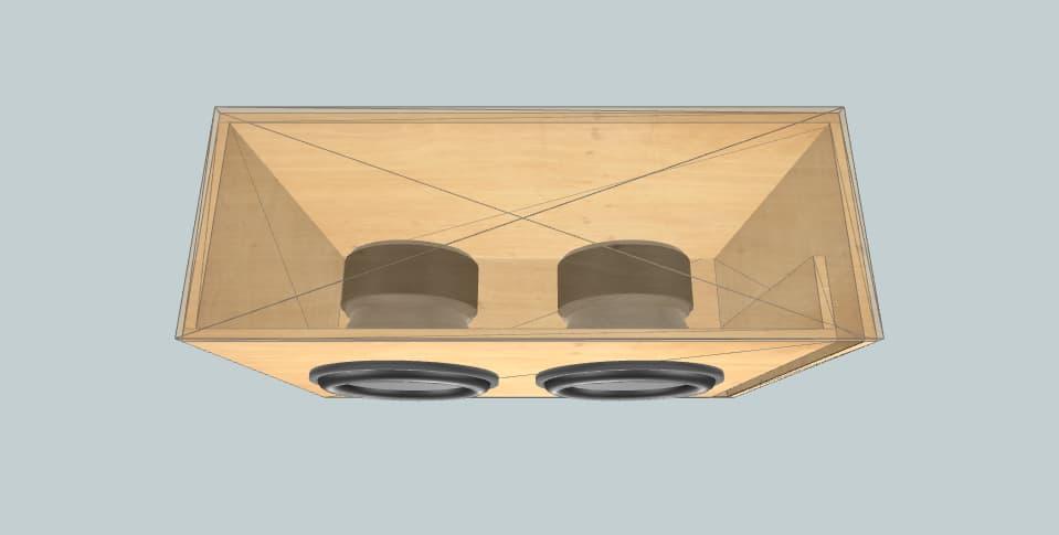 15 дюймов короб для сабвуфера Skar VXF-15