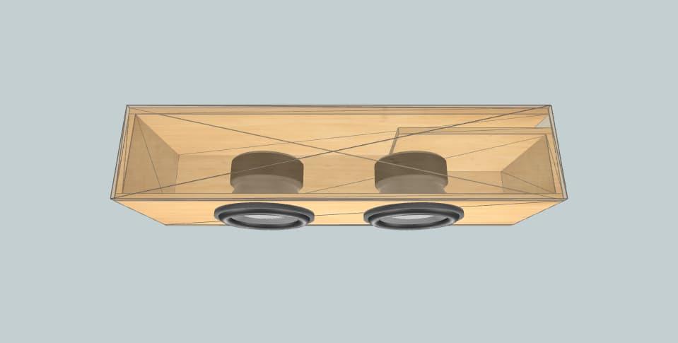 12 дюймов короб для сабвуфера JL Audio W3v3