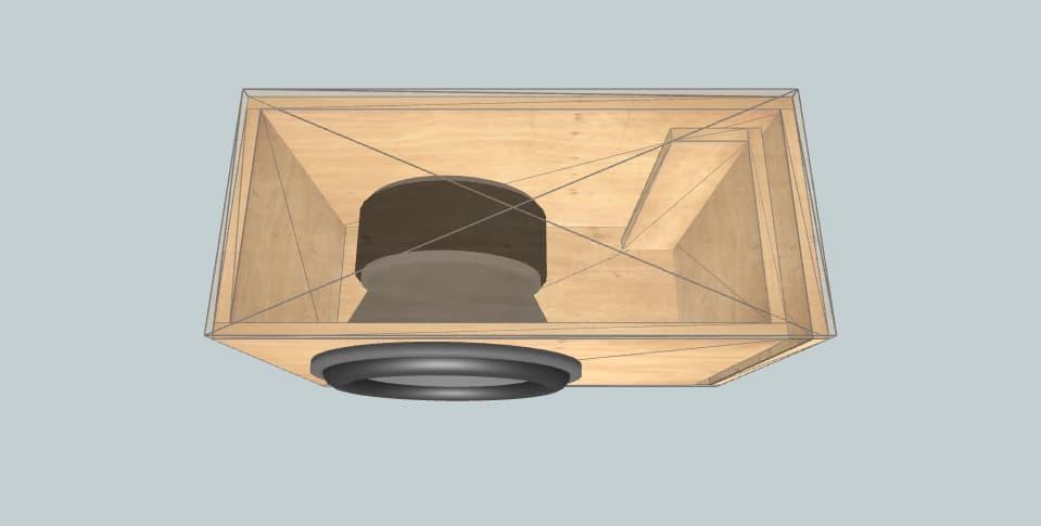15 дюймов короб для сабвуфера Powerbass ümit