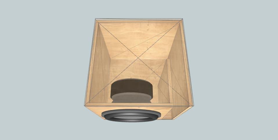 15 inch subwoofer box B&C Speakers 15hpl67