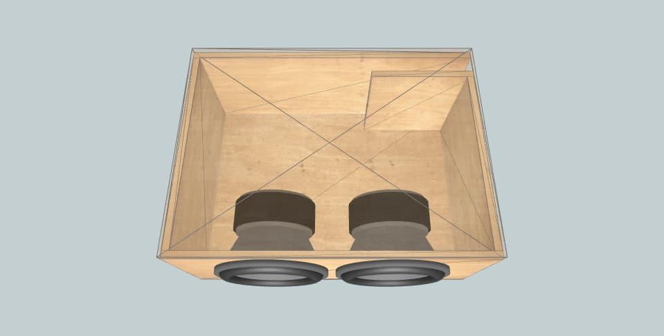 12 дюймов короб для сабвуфера Infinity 2020 charger dual 12s