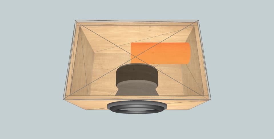 12 inch subwoofer box DS18 GEN-XX12.4DHE