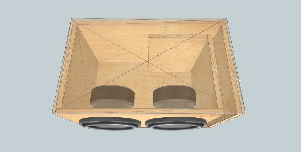10 inch subwoofer box Rockford Fosgate punch p1 10s