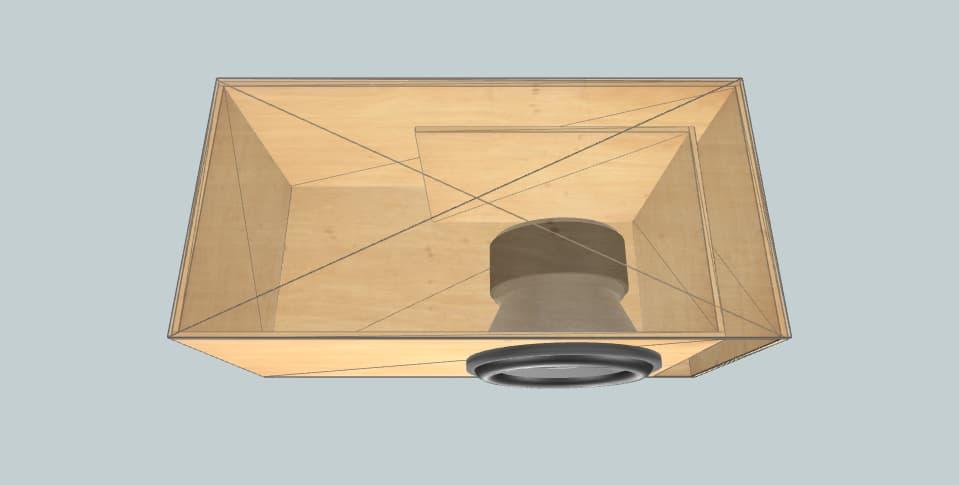 12 inch subwoofer box Pioneer Prymier