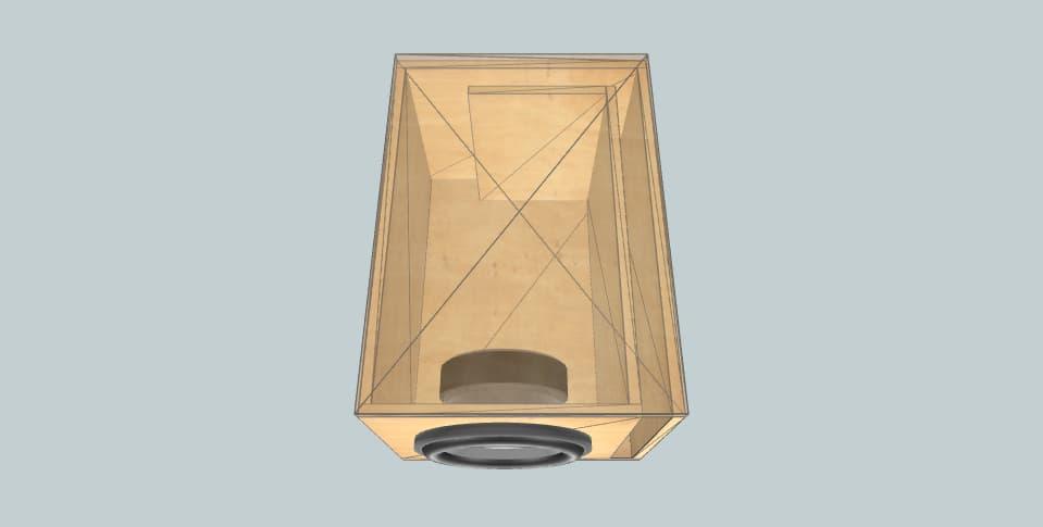 10 inch subwoofer box Ural 1