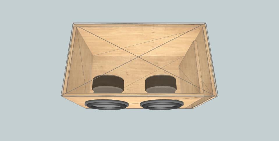 12 дюймов короб для сабвуфера Sundown Audio dgk.jl