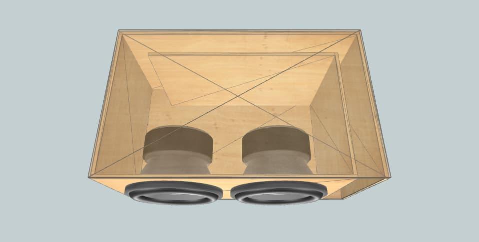 10 дюймов короб для сабвуфера Sundown Audio Vash