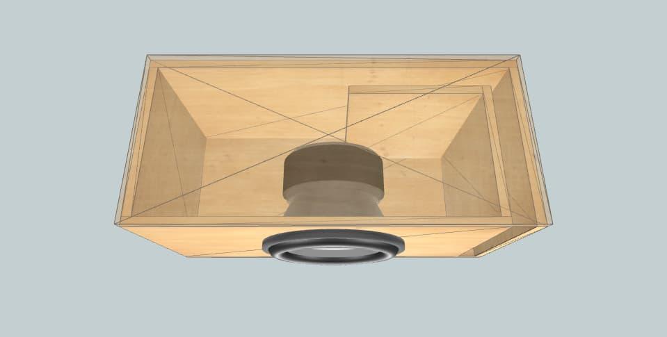 12 дюймов короб для сабвуфера Alpine Type R SWR-1242D